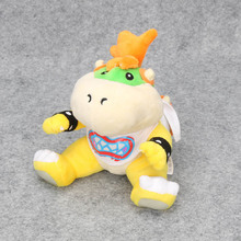100pcs/lot 18cm plush toys Koopa Bowser dragon plush doll Brothers Bowser JR soft Plush Dolls for kids(China)