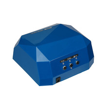 LED Nail Dryer&FREE SHIPPING UV&CCFL Light Dimond Shape Gel Curing Lamp Newest Drying Gel Polish Tools &Original Box