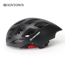 Xintown 6 Color Cycling Helmet EPS Safety Sports Bike Unisex Integrally-molded Helmet Breathable Ultralight Head Protect Helemt