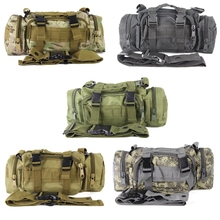 DUTOLE Multicam Utility Tactical Waist Pack Deployment Shoulder Bag Pouch Military Camping Hiking Bag Outdoor Hunting Bags(China)