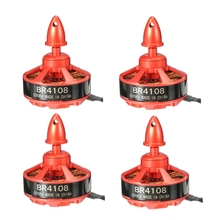 High Quality 4pcs Racerstar Racing Edition 4108 BR4108 600KV 4-6S Brushless Motor For 500 550 600 RC Frame Kit For Quadcopter(China)