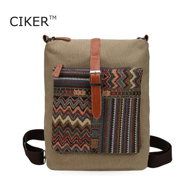 CIKER New Bohemian style Multifunction backpack women wintage canvas bag printing backpacks for teenage girls rucksack mochilas<br><br>Aliexpress