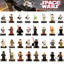 1PC Star Wars Kallus R5D4 Robot Count Dooku Darth Vader Darth Maul Building Blocks Toy Compatible LegoINGly Starwars(China)