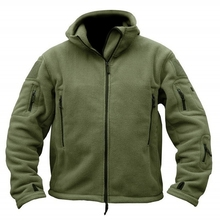 High Quality Military Tactical Softshell Fleece Jacket Men US Army Polartec Sportswear Clothes Warm Casual Hoodie Jacket