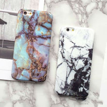 LOVECOM New Hot Granite Marble Texture Phone Hard Back Cover Phone Case For iPhone 6 6S Plus Mobile Phone Bags & Cases