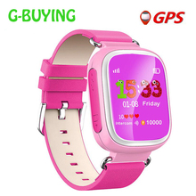 New Kid GPS Smart Watch Wristwatch SOS Call Location Finder Locator Device Tracker for Kid Safe Anti Lost Monitor Baby Gift Q80