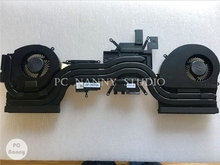 for Dell Alienware 17 R4 Cpu Cooling fan Heatsink Assembly Radiator Cooler 1080 CN-0k2pkv k2pkv 0k2pkv