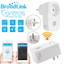 Broadlink Sp3, SP3S Power Meter Monitor, 16A + Timer wi-fi-buchse stecker outlet Smart remote drahtlose Steuert für iphone Ipad Android(China)