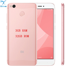 "ORIGINAL BRAND NEW  Xiaomi Redmi 4X PRO  3GB RAM Fingerprint ID Snapdragon 435 Octa Core 5.0"" 720P 13MP Camera  mobilephone"