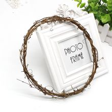1pcs Cheap Garland Green Leaf Artificial Flower Vines Natural Dried Branches Rattan Wreath DIY material Wedding Decoration flowe
