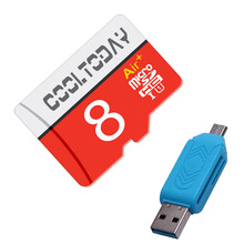 Hot Micro SD Card 8GB 16GB 32GB 64GB memory card 128GB carte micro sd cartao de memoria 32 gb+ OTG reader(China)