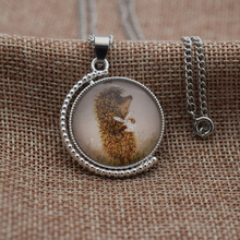 Hedgehog In The Fog Double Logos New Design Lovely Pendant Necklace Fashion Jewelry Gift For Women Girls Kids(China)
