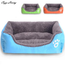 Pet Bed For Dogs 1 PC Pet Dog Cat Beds Puppy Cushion House Soft Warm Kennel Dog Mat Blanket S M L Pet Bed Sofa Wholesale D28