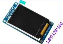 1.8 inch TFT screen SPI Serial port module support 51/ARM ST7735 128*160 65K color LCD display