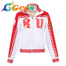 YURI !!! on ICE Victor Nikiforov Russian Cosplay Costume Sportswear Coat Jacket Halloween Christmas Free Shipping in Stock
