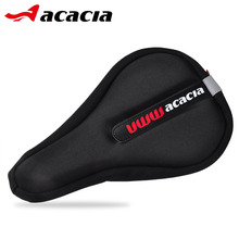 Acacia 3D Soft Bicycle Cushion Sets Bike Seat Cushion Safety Reflective Pads Carbon Saddle Cool Bike Parts Front Seat Mat 4582