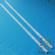 6pcs/set 750mm*17mm 10leds 30V TV Panel Backlight Lamps LED Strips w/ Optical Lens Fliter for 39''/40'' TV LCD Montor New