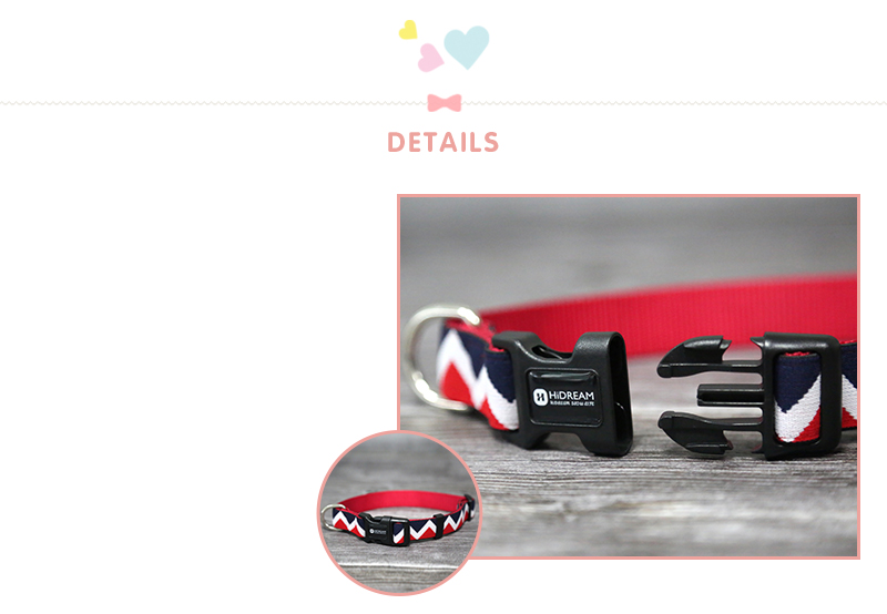 Outdoor Nylon Dog Collars Mascotas Pet Dogs Neck Straps Puppy Led Dog Collar Strong Colorful Wave 40-62CM Adjustable HD002004 (6)