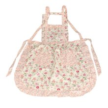 HGHO-Stylish Rose Flower Pattern Women's Chefs Cooking Cook Apron Bib with Pockets