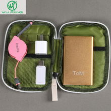 Simple Portable Digital Storage Bag Travel Data Lines U Disk Pack Waterproof Storage Bag Drop Resistance E2shopping(China)