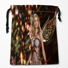 Best Lily Donaldson Drawstring Bags Custom Storage Printed Receive Bag Compression Type Bags Size 18X22cm Storage Bags(China)