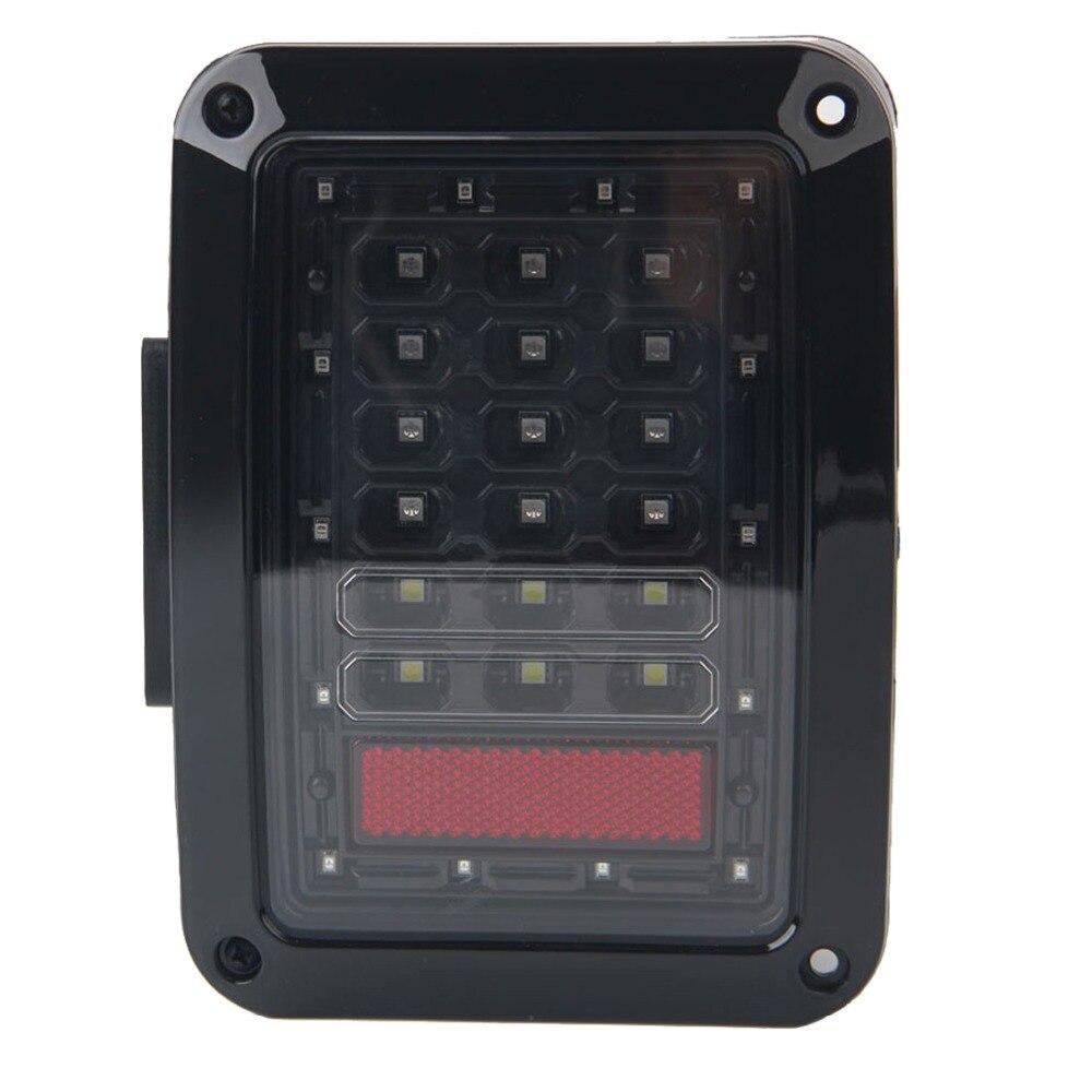 1 Pair LED Brake Reverse Stop Parking Backup Tail Lights Kit Turn Signal Taillight for Jeep Wrangler JK 2007-2015<br><br>Aliexpress