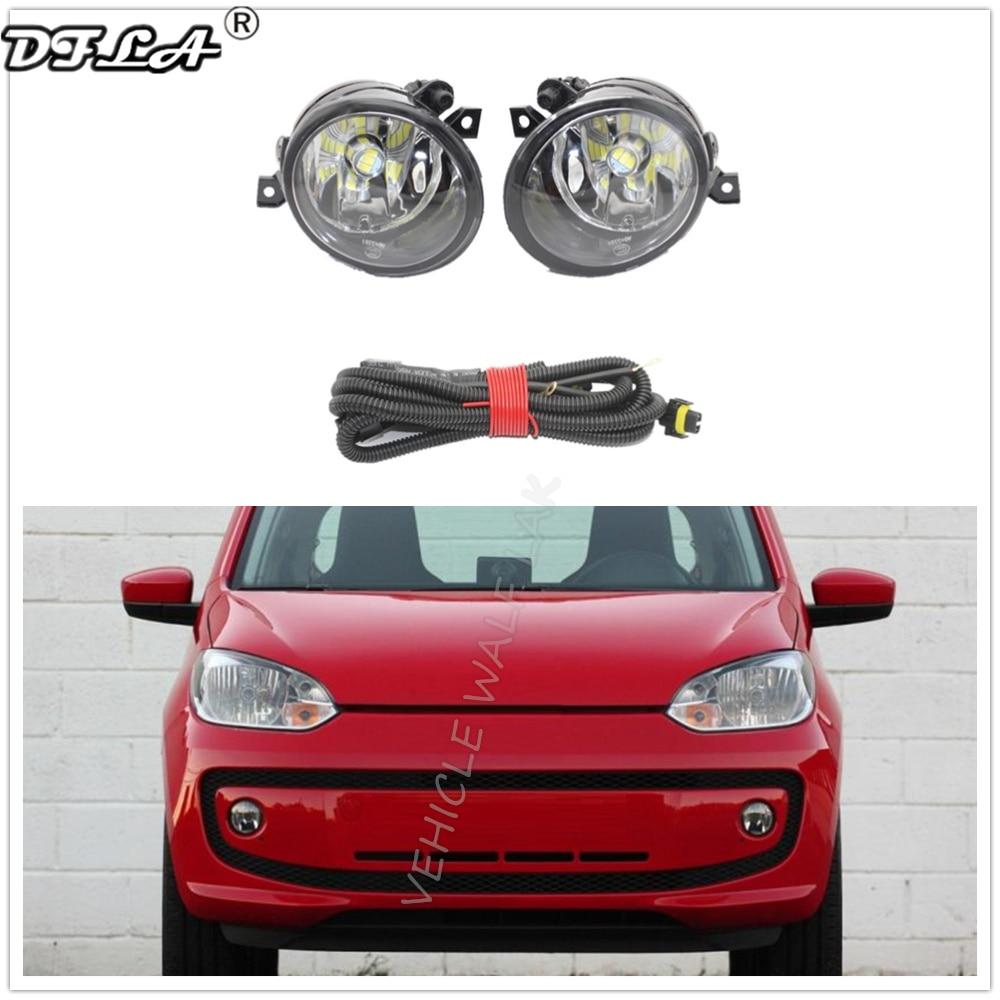 FOR VW TOUAREG FRONT BUMPER FOG LIGHTS LAMP GRILLE  BENZEL PAIR SET 2002-2006