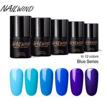 NAILWIND 7ML Goddess Exclusive Blue Sky Series 2701-2720 Polish Gel Nail Polish For UV LED Light Insulation Semi-permanent(China)