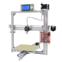 Silver Anet A2 Plus Aluminum Metal 3D Three-dimensional DIY Printer with TF Card Off-line Printing / Optional LCD Display