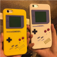 Fashion For Apple iphone 8 4S 5S SE 6 6S 7 plus Case Classical cartoon boy game machine Soft Silicone Rubber Cases phone Cover(China)