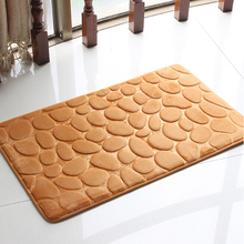 home decoration Flannel slow rebound carpet floor Super comfortable doormat kitchen bathroom bath mats absorbent non-slip