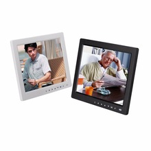 10 inch HD TFT LCD Digital Photo Frame With Alarm Clock Music Video Player function With Desktop Stand Bracket