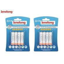 8pcs/lot Original AAA 1.2V 900mAh For Ienelong rechargeable AAA Ni-MH battery