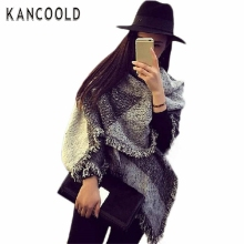 2017 Spring Autumn Garment Fashion Women's Large Tartan Scarf Shawl Plaid Woollen Cloth Tassels Scarf Lasies Style Pashmina F233