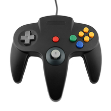 Hot USB Game Wired Controller Joystick Gamepad Gaming For Nintendo for Gamecube for N64 64 Style PC Black