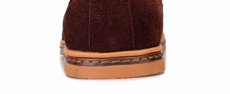 Classic Men Flats Gentleman Oxford Genuine Leather Dress Shoes Men Flat Shoes Luxury Casual Shoes Size 39-47 8