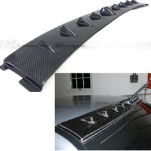 EVO Carbon Fiber Shark Fin Roof Spoiler for Mitsubishi Lancer Evolution EVO 7 8 9 2003-2007