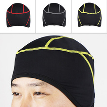 Winter Outdoor Sports Cool Stitching Design Hiking Skiing Bike Bicycle Cycling Helmet Headband Liner Windproof Face Mask Hat Cap(China)