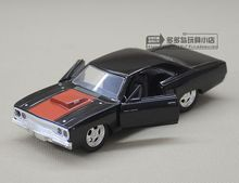 JADA 1:32 scale High simulation alloy model car,Plymouth Road Runner Classic car,quality toy models,free shipping