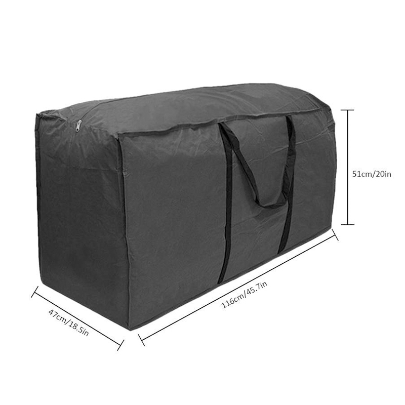 Multi-function Garden Furniture Storage Bag Cushions Upholstered Seat Protective Cover Large Capacity Storage Bags