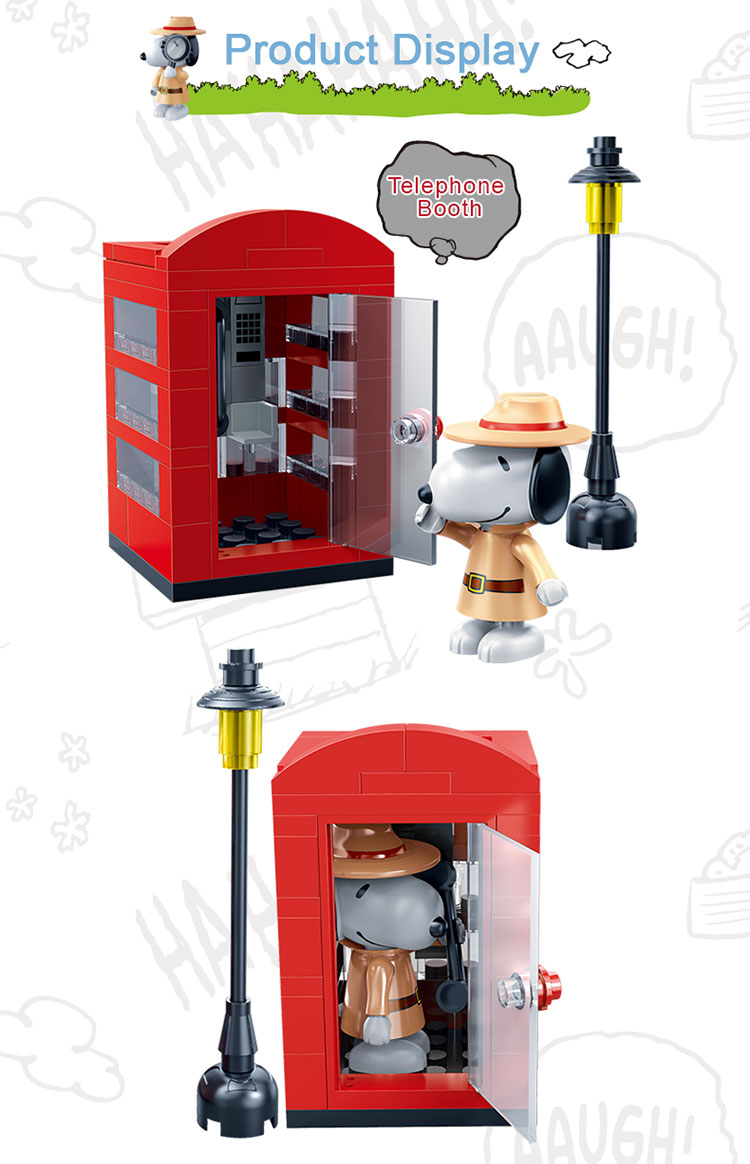 BanBao 7528 Telephone Booth Building Blocks 19