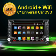 2 din Car DVD player GPS Auto RDS 6.2 Inch For Volkswagen VW Universal golf 5 steering-wheel free cam Map(China)