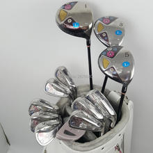 New womens Golf clubs Maruman FL Golf complete set of clubs driver+fairway wood+irons+putter Graphite Golf shaft No ball packs