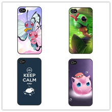 Hot Pokemons Case Cover Coque for iPhone 5 5s 6 6s 6 Plus Cute Pocket Monsters Fundas for Pokemons Go Plus Case iPhone 7