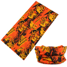 LS036 new hot shop elastic hair bands hair accessories print with beautiful design bandana 100% polyester multifunctional hijab