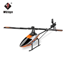 WLtoys RC Drone Dron 2.4G 6CH 3D 6G Mode Flying Helicopter Quadcopter RTF Remote Control Toys Brushless Motor Flybarless Drones(China)
