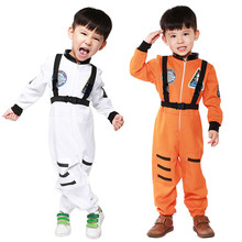 Buy New Arrival Kids Space Astronauts COS Costume Halloween Cosplay Children Disfraces Masquerade Hot Sale Kids Clothes 5088H177437 for $25.11 in AliExpress store