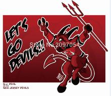 NHL New Jersey Devils Flag 3x5 FT 150X90CM Banner 100D Polyester flag 1112, free shipping