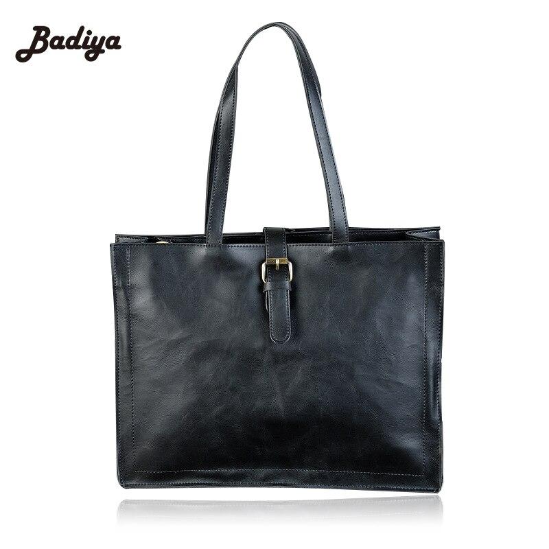 Popualr Men bag 100% leather bag 2016 new famous brands men messenger bags solid laptop bag crossbody handbag<br>