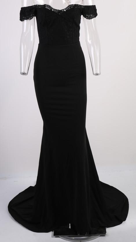 فستان سهرة  Missord جذاب مع ذيل وذو تصميم مميز 22